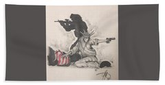 Fighting For Liberty  Bath Towel