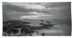 Bath Towel featuring the photograph Fine Art Of The Sea by Bruno Rosa