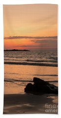 Fine Art Sunset Collection Bath Towel