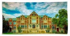 Fine Arts Building - Ball State University Bath Towel