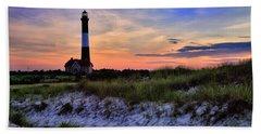 Fire Island Lighthouse Bath Towel