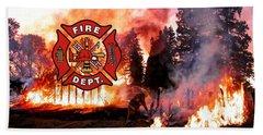 Firefighting 2 Hand Towel
