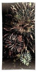 Fireworks In The Cosmos - Brainstorm Bath Towel