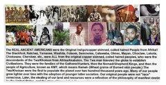 First Native Americans Were Indigo Twa Black Afrikans Bath Towel
