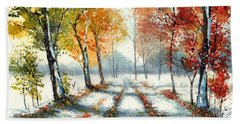 First Snow Hand Towel