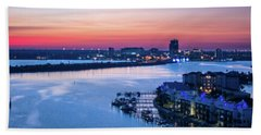 Firstlight Over Clearwater Bath Towel