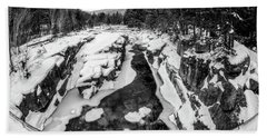 Fisheye View, Rocky Gorge Nh Hand Towel