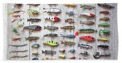 Fishing Lures - Dwp2669219 Bath Towel