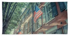 Flags Old Town Alexandria Hand Towel