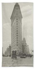 Flatiron Building Fuller Building, Hoek 23rd Street, Fifth Avenue En Broadway, New York City, Unknow Hand Towel