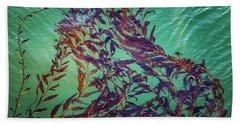 Floatin Kelp I Color Hand Towel