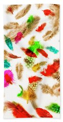 Floating In Colourful Abstract Hand Towel
