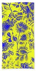 Flora And Foliage Bath Towel