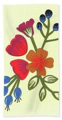 Flora, Cut Paper Hand Towel