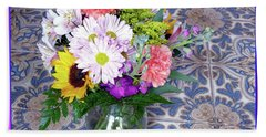 Flower Bouquet  Hand Towel