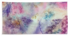 Flower Of Life Hand Towel
