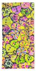 Flower Power Patterns Hand Towel