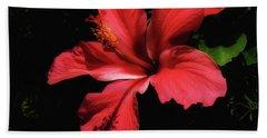 Flowering Hibiscus Bath Towel