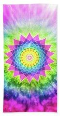 Flowering Mandala Hand Towel