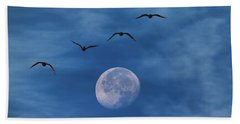 Fly Me To The Moon Bath Towel