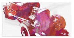 Ford Flathead Roadster Two Pop Bath Towel