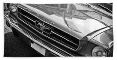 Ford Mustang Vintage 2 Hand Towel