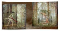 Forest Dancers Bath Towel