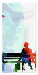 Forest Gump Watercolor II Bath Towel