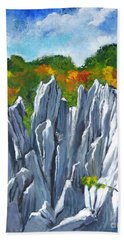 Forest Of Stones Bath Towel