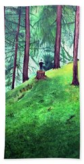 Forest Through The Trees Hand Towel