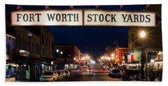Fort Worth Stock Yards 112318 Hand Towel