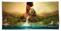 Fountain Of Eternity Hand Towel