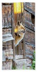 Fox Test  Bath Towel
