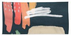 Fragments 2- Art By Linda Woods Hand Towel