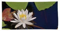Fragrant Water Lily Bath Towel