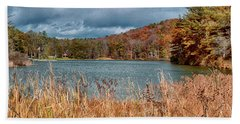 Framed Lake Bath Towel