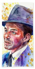 Frank Sinatra Singing Hand Towel