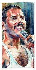 Freddie Mercury Live Aid Hand Towel