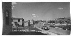 Frederick Douglass Houses, Washington, D.c. Street View I 1944 Bath Towel