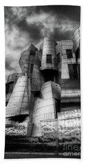 Frederick R Weisman Art Museum Frank Gehry University Of Minnesota Bath Towel