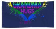 Free Grandma Hugs Lgbt Heart Gay Flag Tshirt-father Day Gift T-shirt Hand Towel
