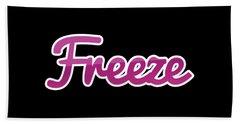 Freeze #freeze Bath Towel