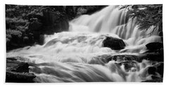 French Alps Stream Hand Towel