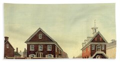 Friends Meeting House And Old Courthouse Hand Towel