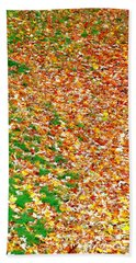 From Summer To Fall Hand Towel
