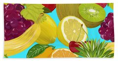 Fruit Mix Bath Towel