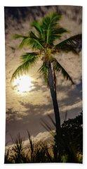 Full Moon Palm Bath Towel