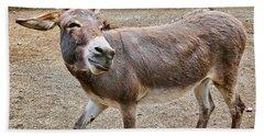 Smiling Donkey Bath Towel