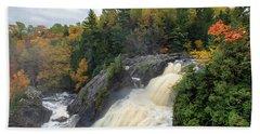 Gabbro Falls 2 Bath Towel