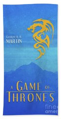 Game Of Thrones A Song Of Ice And Fire Book Series Art 1 Bath Towel